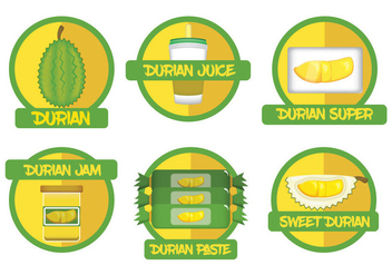 Durian Vector - Free vector #360171