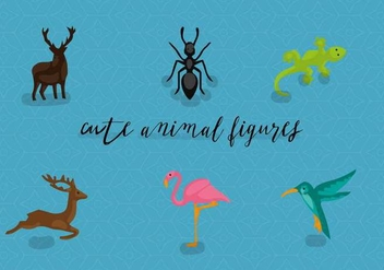 Free Animals Vector Illustration - бесплатный vector #360241