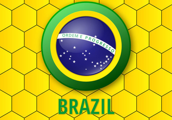 Free Brazil Background Vector - vector gratuit #360281