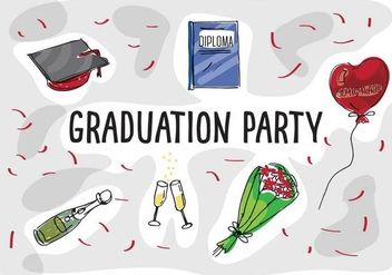 Free Graduation Vector Icons - бесплатный vector #360291