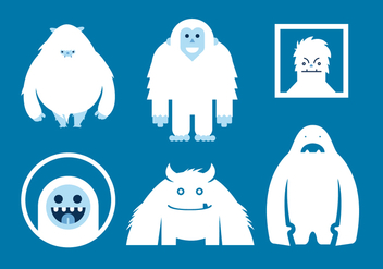 Yeti Vector Versions - vector #360411 gratis