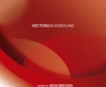 Abstract red backdrop - vector gratuit #360741