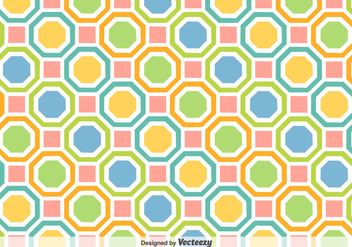 Vector Background With Colorful Geometric Figures - vector gratuit #360791