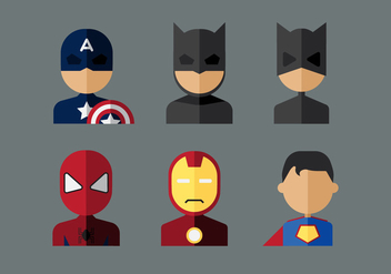 Vector Superheroes - Free vector #360921