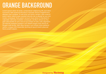 Vector Background With Yellow Waves - vector #361061 gratis