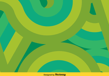 Green/Turquoise Swishes Vector Background - Free vector #361111