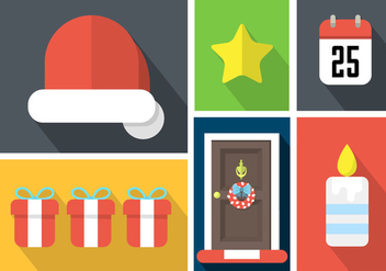 Christmas Vector Elements - vector gratuit #361221