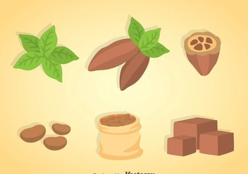 Cocoa Vector Sets - бесплатный vector #361231