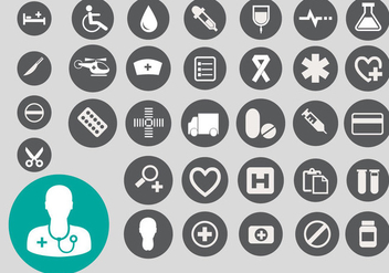 Free Medical Icon Vector - vector gratuit #361291