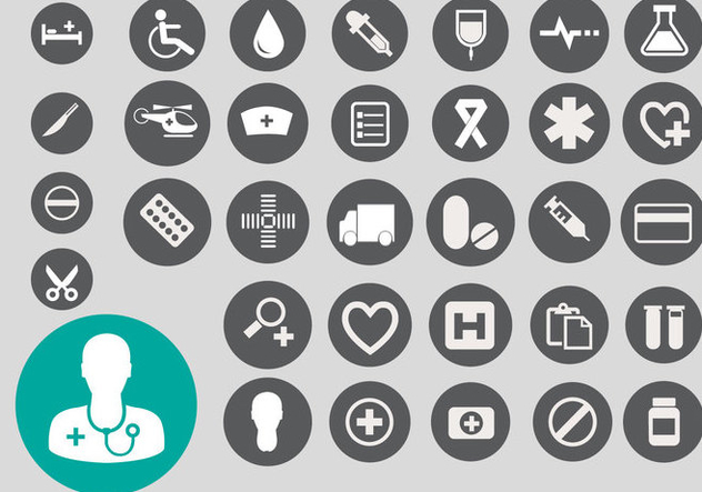 Free Medical Icon Vector - бесплатный vector #361291
