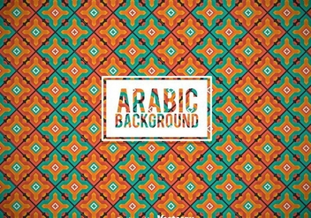 Arabic Ornament Background - Free vector #361381