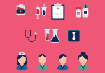 Free Medical Vector Icons - vector #361411 gratis