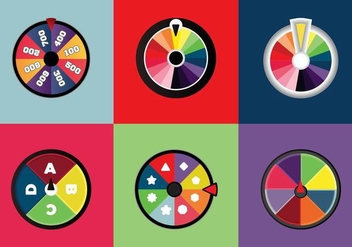 Free Spinning Wheels Vector - vector gratuit #361521