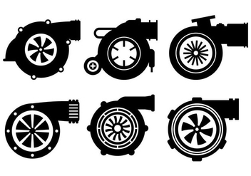 Turbo Charger Vector - Free vector #361641