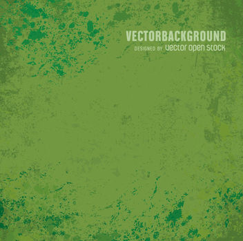 Grunge green background - Kostenloses vector #361731