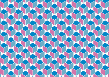 Abstract Cube Background Vector - vector #361771 gratis