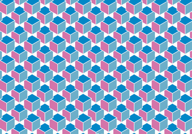 Abstract Cube Background Vector - бесплатный vector #361771
