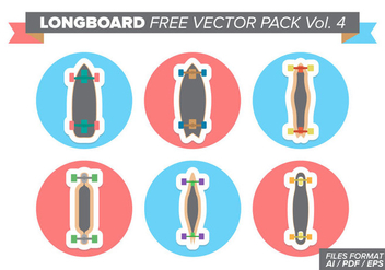 Longboard Free Vector Pack Vol. 4 - Free vector #361821