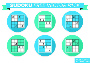 Sudoku Free Vector Pack - Free vector #361951