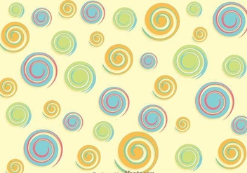 Swirly Circle Background - vector gratuit #361971