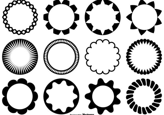 Circle Vector Shapes - vector gratuit #362121