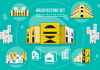 Free Architecture Vector Background - бесплатный vector #362191