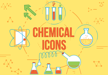 Free Chemical Vector Icons - бесплатный vector #362461