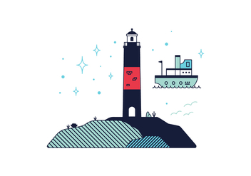 Free Lighthouse Vector - Kostenloses vector #362501