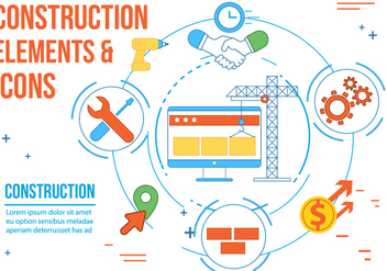 Free Construction Vector Icons - vector gratuit #362521