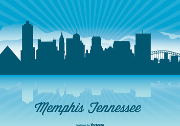 Tennessee Skyline Illustration - vector #362701 gratis