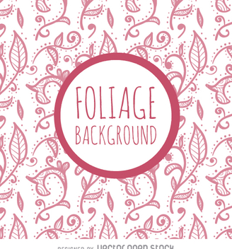 Pink foliage background - Free vector #362971