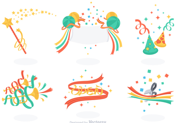 Free Celebration Vector Set - Kostenloses vector #363111