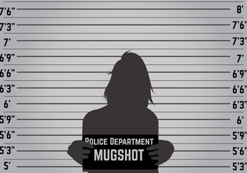 Mugshot Background Vector - vector gratuit #363561