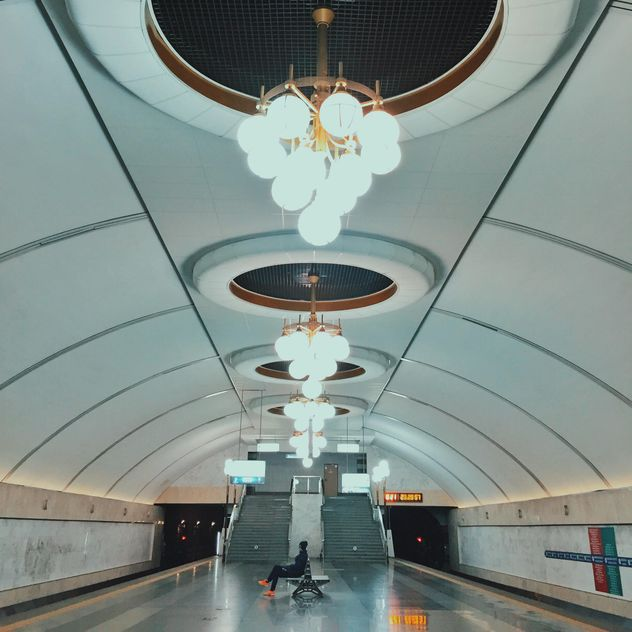 Interior of subway station - бесплатный image #363711