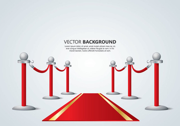 Velvet Rope Background - Kostenloses vector #363811