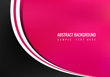Free Vector Abstract Pink Background - vector gratuit #364361
