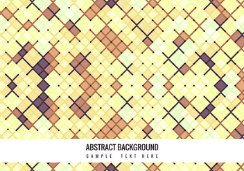 Vector Colorful Mosaic Pattern background - бесплатный vector #364641