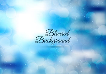 Free Vector Glossy Blurred Background - бесплатный vector #364701