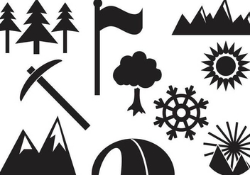 Free Mountain Vectors - vector #364791 gratis