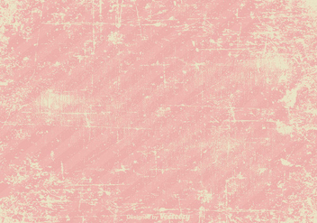 Pink Vector Grunge Background - Kostenloses vector #364971