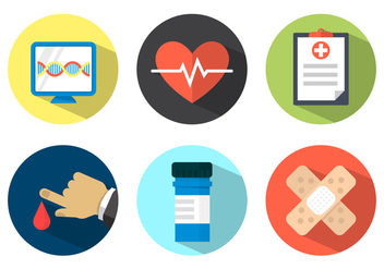 Free Medical Icons - vector #364981 gratis