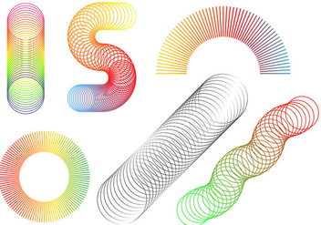 Free Slinky Vector - Free vector #365141