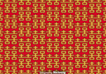 Vector Double Happiness Seamless Pattern - Free vector #365381
