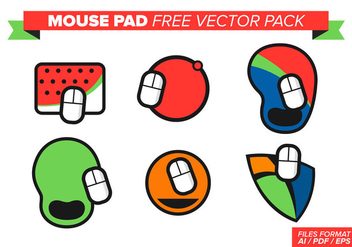 Mouse Pad Free Vector Pack - Kostenloses vector #365421