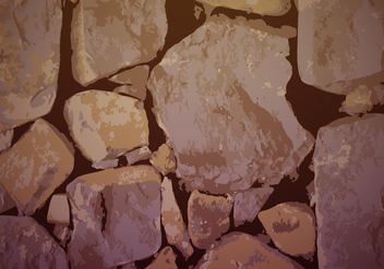 Stonewall Background Texture Vector - vector #365551 gratis