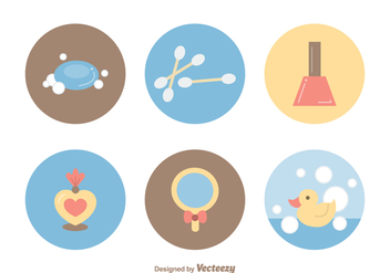 Free Beauty Vector Icons - vector gratuit #365631