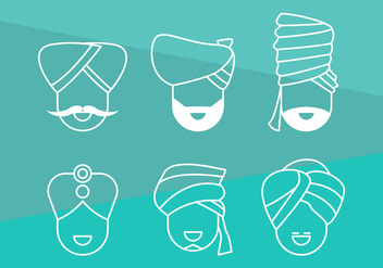 Free Turban Vector Graphic 1 - vector #365771 gratis