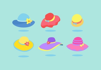 FREE LADIES HAT VECTOR - Free vector #365861