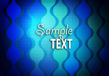 Free Blue Textured Background Vector - бесплатный vector #365931