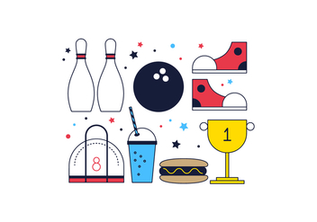 Free Bowling Vector - Free vector #366211